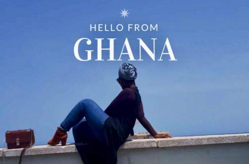 Article : Hello from Ghana : perdue dans les rues et les lieux historiques